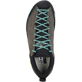 Scarpa Mescalito Shoes Women titanium/green blue